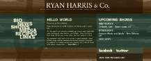 Ryan Harris & Co : : Web Design